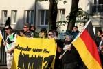 """""""heute wie damals"""" - Transparent von Nazis aus Nordsachsen"""