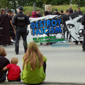 """Transparent """"destroy fascism"""""""