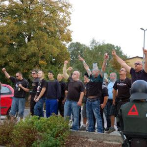 Nazis bepöbelten die Demonstration