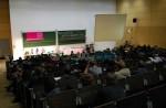 """Aktivierungskonferenz von """"Dresden Nazifrei"""" im Hörsaalzentrum der TU Dresden"""