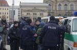 Polizeieinsatz gegen Protestierer