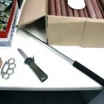 Beschlagnahmte Waffen