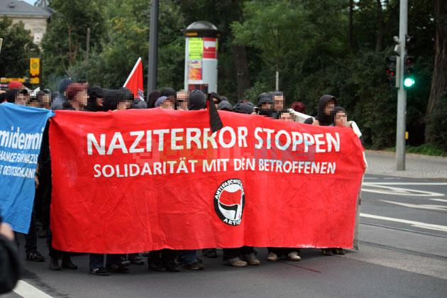 Braucht dringend mehr Antifaschismus: Sächsische Demokratie
