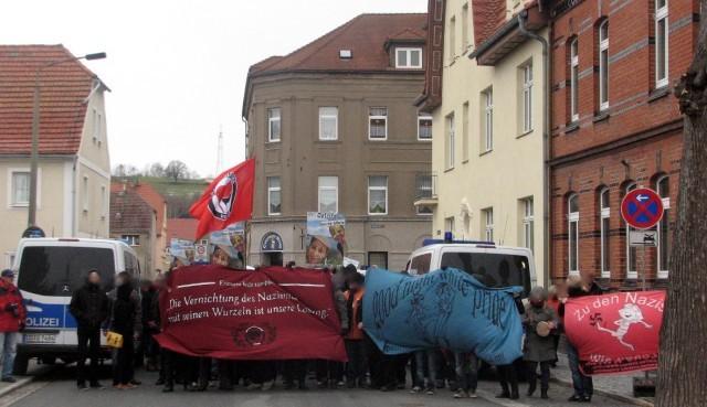 Protestkundgebung in Ostritz