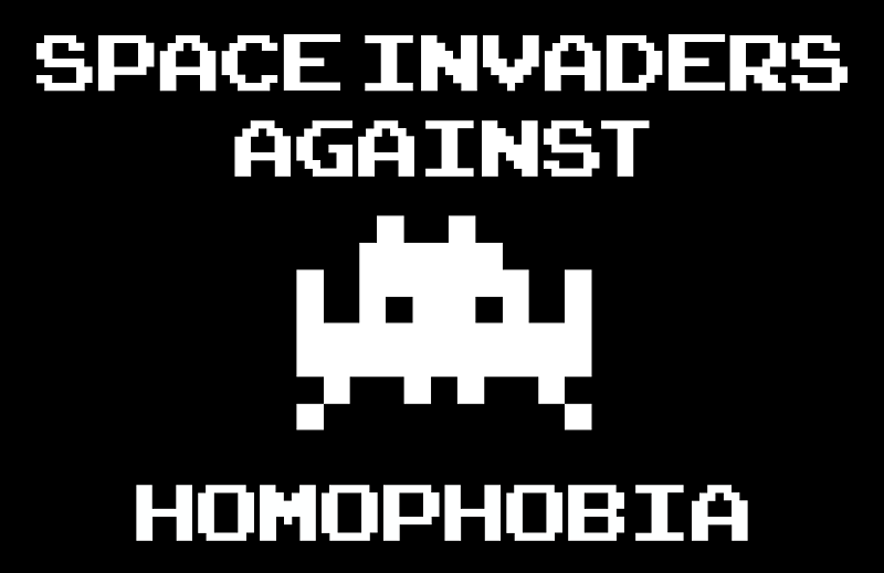 Space Invaders against Homophobia