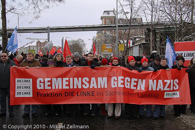 Öffentliche Fraktionssitzung der Linken am 13. Februar 2010 (Quelle: flickr.com/photos/mikaelzellmann/)