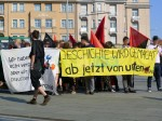 FAU Demonstration in Dresden