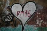RM 16 Graffiti