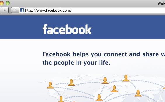 Das kommerzielle Netzwerk Facebook (Quelle: flickr.com/photos/50623029@N07)