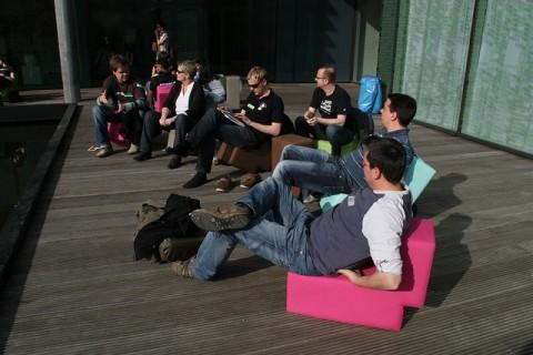 So entspannt dürfte es an der Universität demnächst nicht mehr zugehen (Quelle: flickr.com/photos/sevenval/)