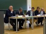 Podiumsdiskussion zum neuen Hochschulfreiheitsgesetz