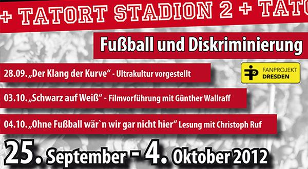 """Ausstellung """"Tatort Stadion 2"""" zu Gast in Dresden"""