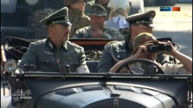 Auftritt der Militärtechnikfreunde Sachsen (Screenshot)
