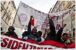 Flüchtlingsdemonstration am 13. Oktober in Berlin (Quelle: flickr.com/photos/libertinus/)
