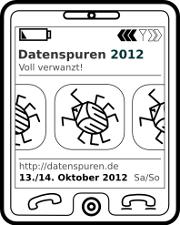 Datenspuren 2012 Voll verwanzt!