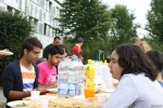 Sommerfest von Asylsuchenden in Langburkersdorf (Quelle: AKuBiZ.e.V.)