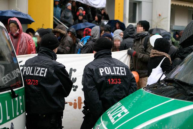Proteste in Dresden-Johannstadt (Quelle: flickr.com/photos/mf-art/)