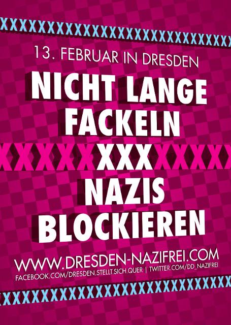 Nicht lange fackeln - Nazis blockieren