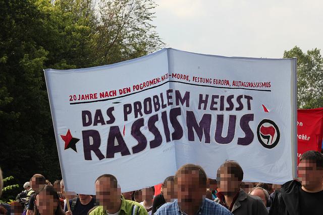 Das Problem heißt Rassismus (Quelle: flickr.com/photos/agfreiburg/)