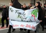 Demonstration in Döbeln am 28.11.2009 (Quelle: Recherche Ost)
