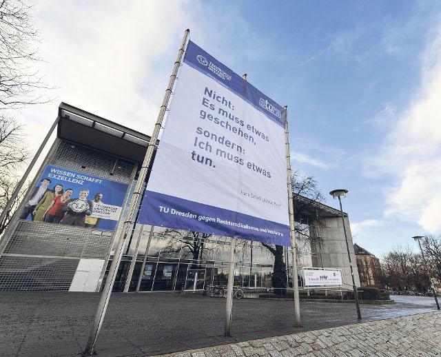 TU Dresden gegen Rechtsradikalismus und Intoleranz (Quelle: tu-dresden.de)