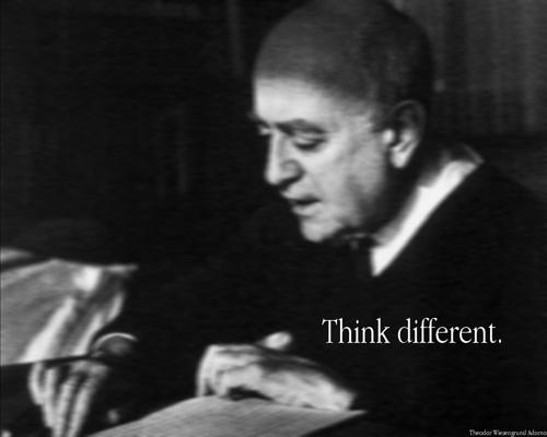 Theodor W. Adorno (Quelle: flickr.com/photos/mastayoda/)