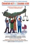 Plakat zum Straßenfest am 22. Juni in Duchcov