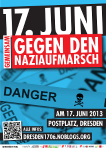 17. Juni 2013 - Gemeinsam gegen den Naziaufmarsch