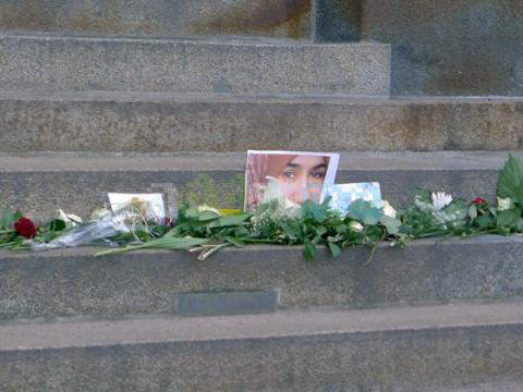 Gedenken an Marwa El-Sherbini