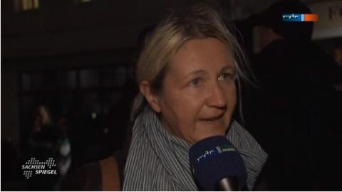 Gitta Schüßler (NPD) im Sachsenspiegel (Screenshot)