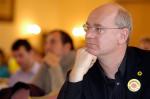 Johannes Lichdi auf einer Landesdelegiertenkonferenz 2010 in Meißen (Quelle: flickr.com/photos/gruene_sachsen/)