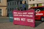 Protest in Annaberg-Buchholz (Quelle: Pro Choice Dresden)