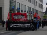 Demonstration zum 8. Mai in der Dresdner Innenstadt