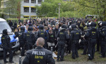 Polizeikessel am 1. Mai in Plauen (Quelle: flickr.com/photos/110931166@N08/)