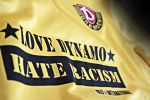 """LOVE DYNAMO - HATE RACISM"" (Quelle: Facebook)"