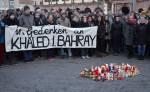 Gedenkkundgebung für Khaled in Leipzig (Quelle: flickr.com/photos/110931166@N08/)