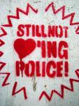 Still not loving Police! (Quelle: flickr.com/photos/seven_resist/)