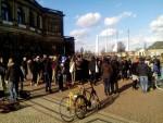 Plenum vor der Semperoper (Quelle: twitter.com/AsylumMovement/)