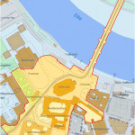 Versammlungsverbotszone  Ende Mai in Dresden (Quelle: Landeshauptstadt Dresden)