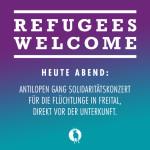 Solidaritätskonzert der Antilopen Gang in Freital