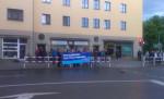 Asylfeindliche Proteste am 19. Juni in Freital (Quelle: twitter.com/stopthehate_de/)