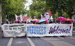 Refugees Welcome! (Quelle: flickr.com/photos/110931166@N08/)