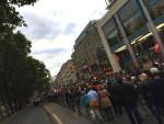 Solidaritätsdemonstration am Montag in Köln (Quelle: twitter.com/antifa_ak_koeln)
