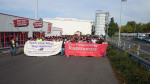 Startpunkt der Demonstration in Heidenau (Quelle: twitter.com/akubiz/)