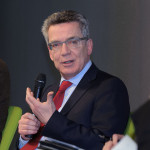 Bundesinnenminister Thomas de Maizière war zu Gast in Dresden (Quelle: flickr.com/photos/boellstiftung/)