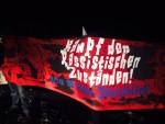 Antirassistischer Protest in Clausnitz (Quelle: twitter.com/JuanMazaCalleja/)