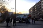Kundgebung auf dem Dr.-Külz-Ring (Quelle: twitter.com/linksjugend_DD/)