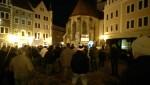 Rechter Protest in Meißen (Quelle: https://twitter.com/streetcoverage/)