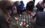 Gedenken an die Toten im Mittelmeer (Quelle: twitter.com/Frau_Altmann)