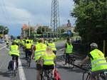 Fahrraddemonstration durch den Westen von Dresden